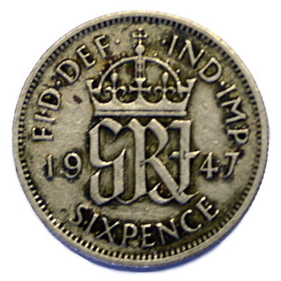 UK King George VI 6p