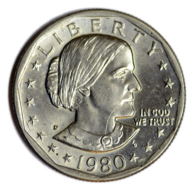 1980 Susan B Anthony