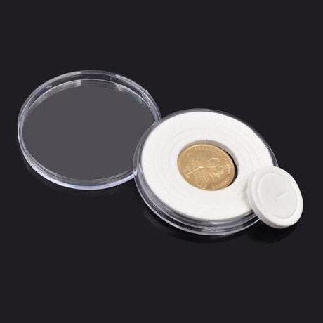 20X46mm Plastic Coin Capsule