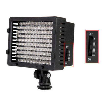 Camera Video Light 3200K - 5400K