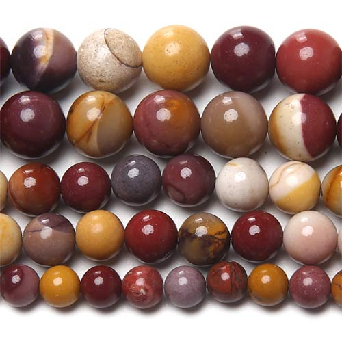 Mookaite Round Beads  10mm