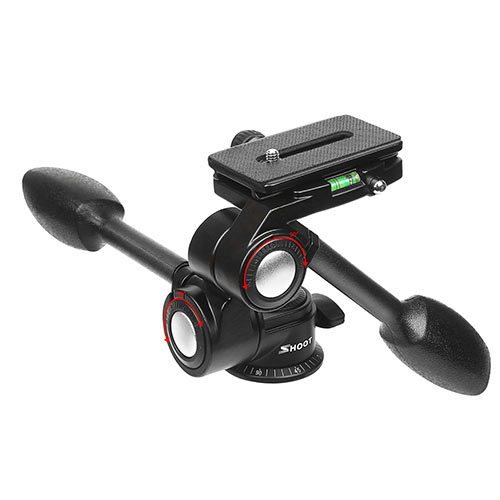 Double Handle Tripod Ball Head