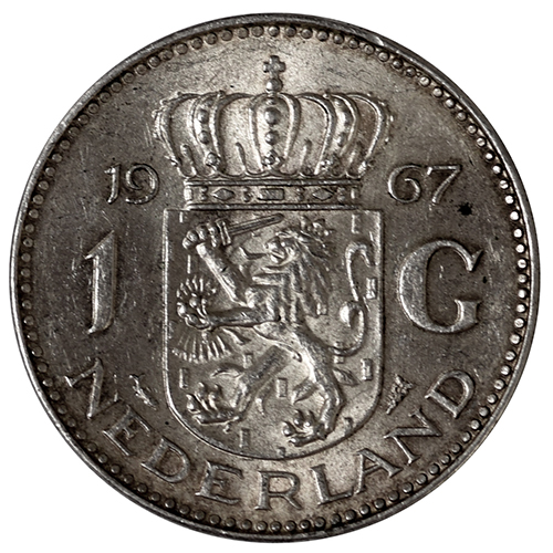 1967 Netherlands 1 Gulden