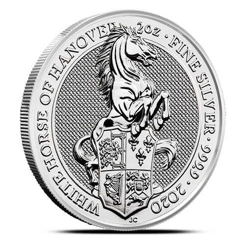 2020-Queens-Beast-2oz-silver-White-Horse-of-Hanover
